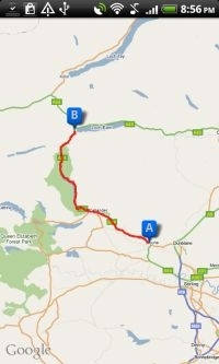 Motorbike Routes Android App