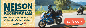 United States Nelson Kootenay Lake by Motorcycle