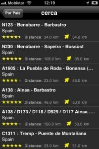 iPhone App Motorcycle Routes Screenshot3