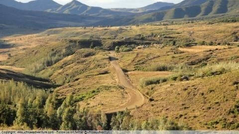 maseru-to-semonkeng-maletsunyane- Route Photo
