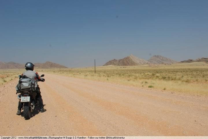 walvis-bay-to-sesriem- Route Photo